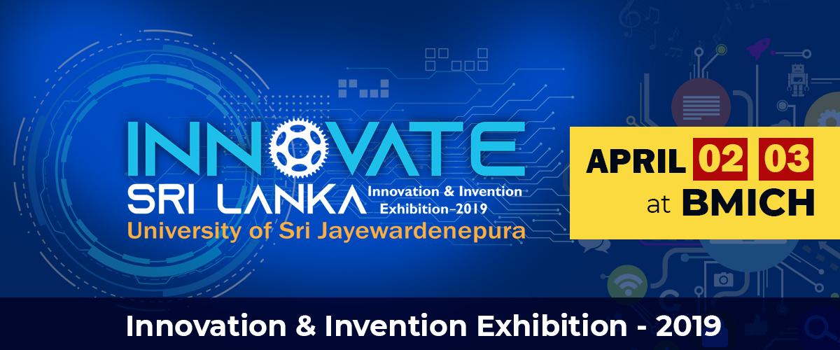 Innovate Sri Lanka Exhibition - April 02, 03, BMICH