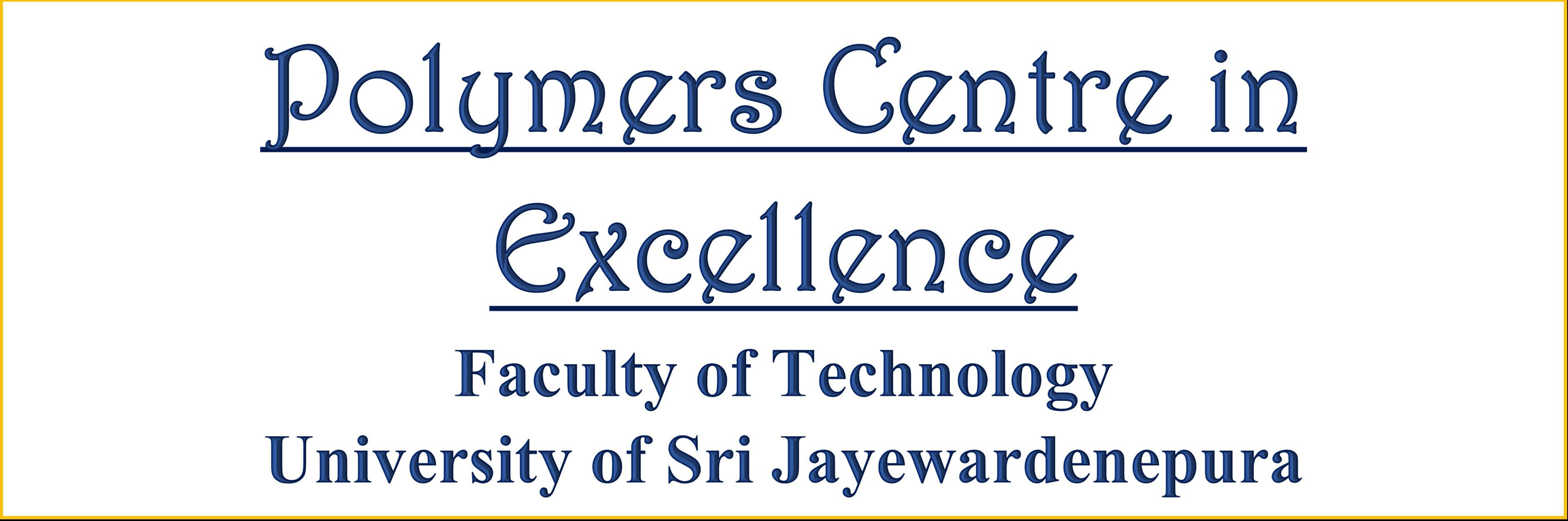 polymer center title