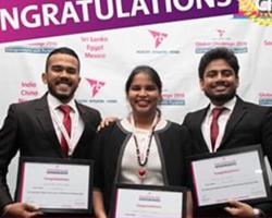 Three USJP Management Undergraduates won RB Global Challenge 2018