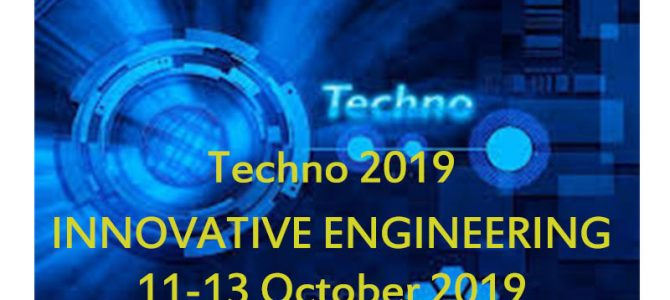 Techno 2019 -INNOVATIVE ENGINEERING