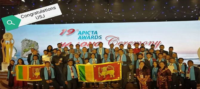 19th Apicta Awards  Ha lONG  Ceremony with USJ