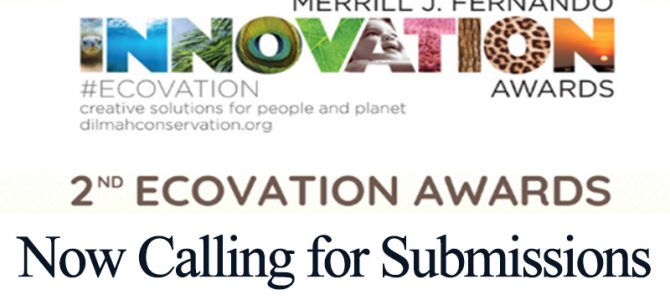 2nd Ecovation Awards 2021 Now Calling for Submissions
